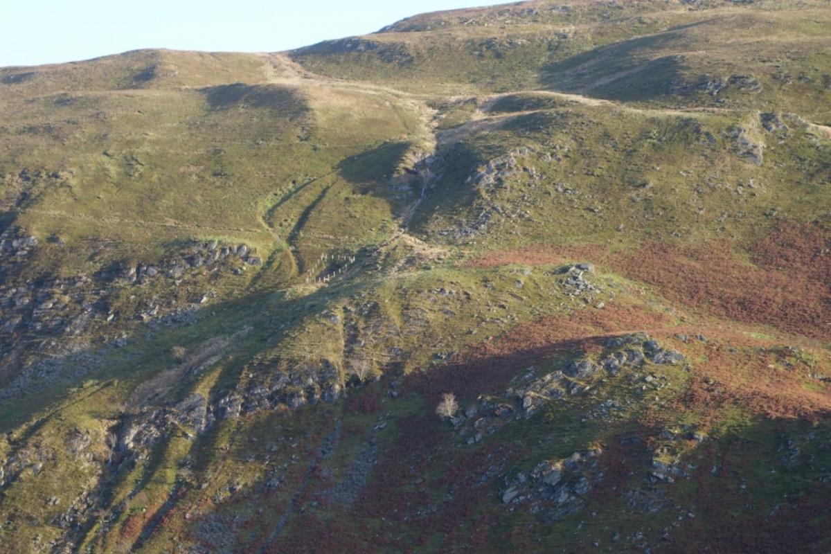 Above-Cwmystwyth