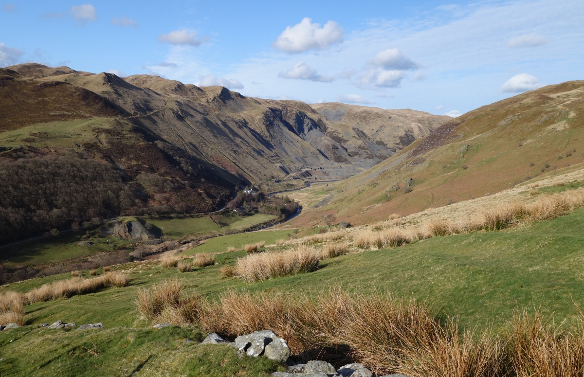 Along the Ystwyth valley north