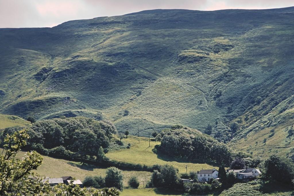 Cwmystwyth view
