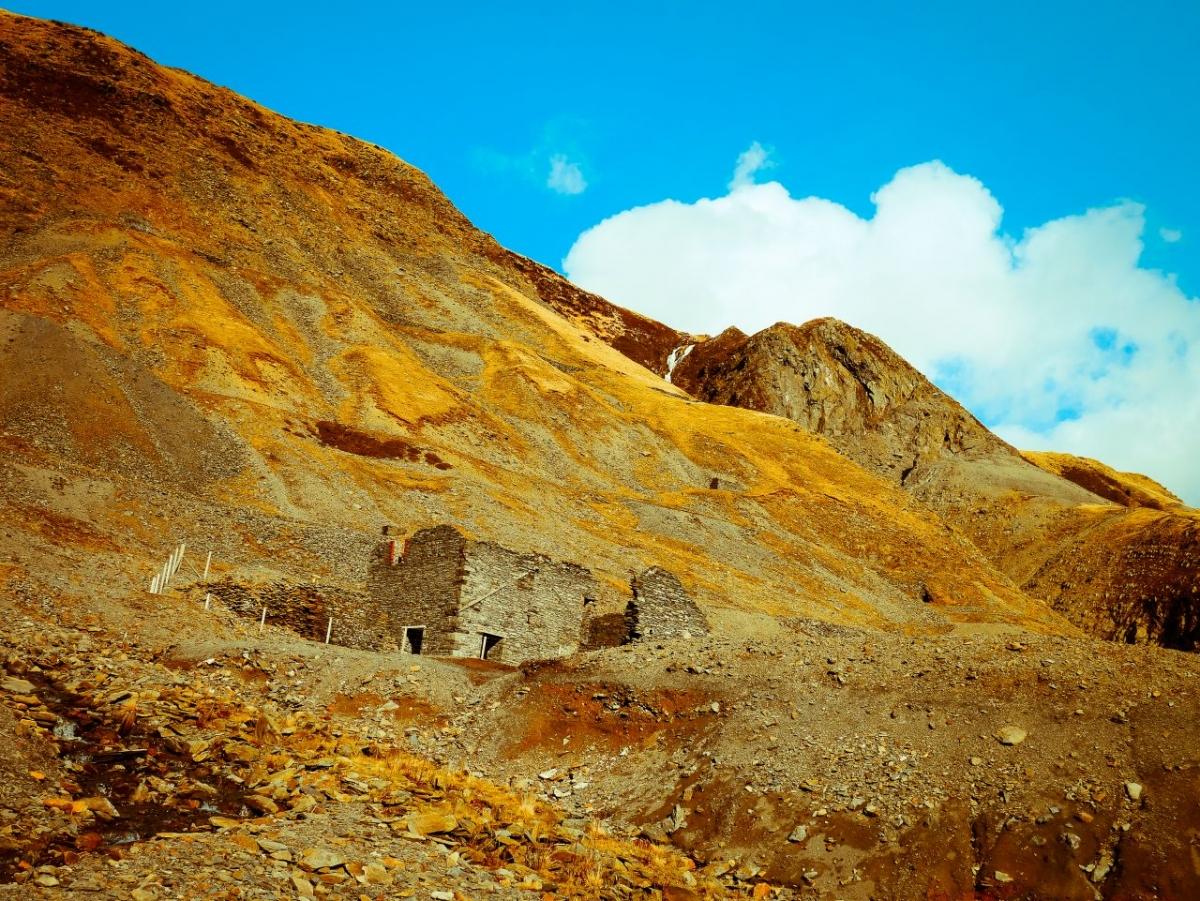 The historic Cwmystwyth mine