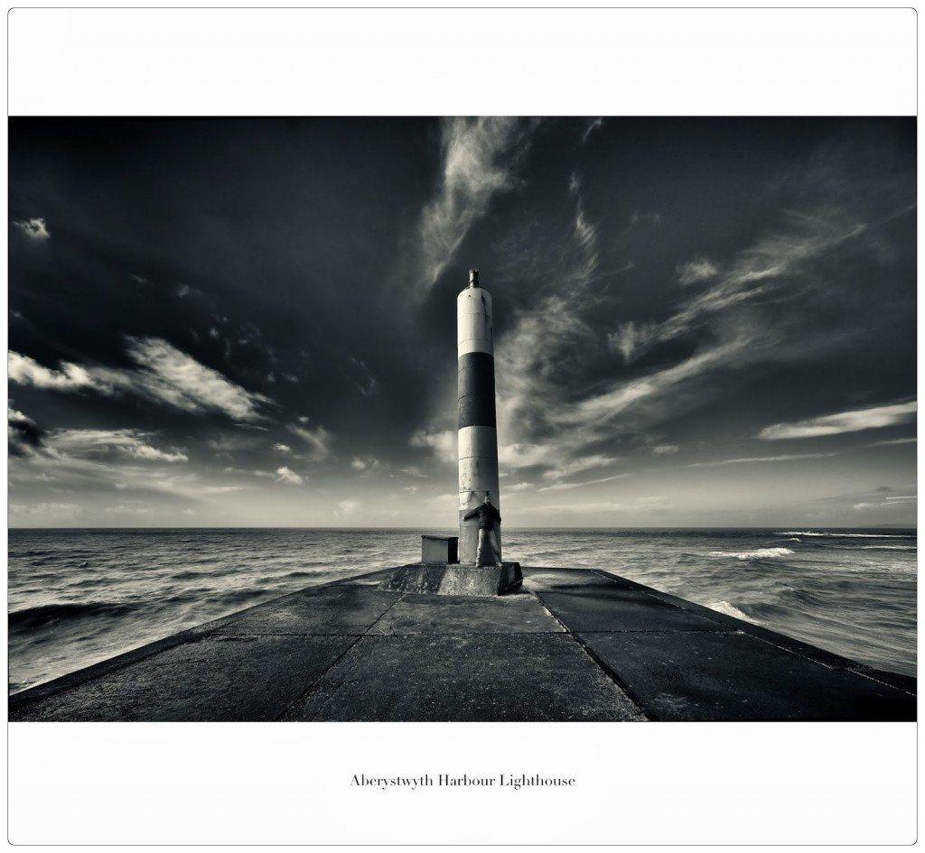 Aberystwyth Harbour lighthouse