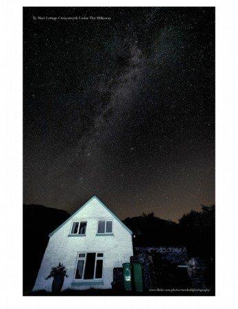 Midnight stars at Ty Mari