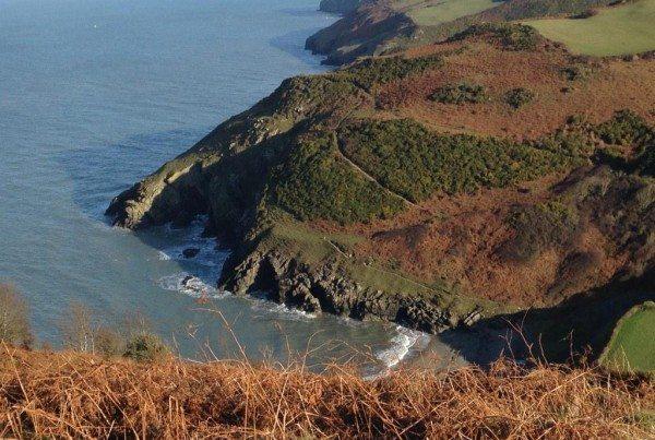 Mwnt Bay on Ceredigion's Heritage Coast