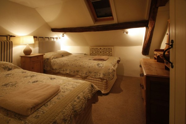 Penroc twin bedroom ready for you!