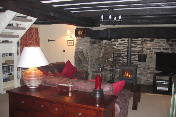 Ty Mari is a comfortable cosy place to return to after walking the hills