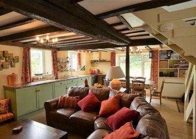 Ty Mari holiday cottage living area