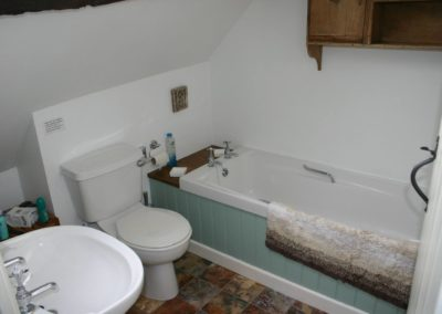 Our holiday cottage bathroom