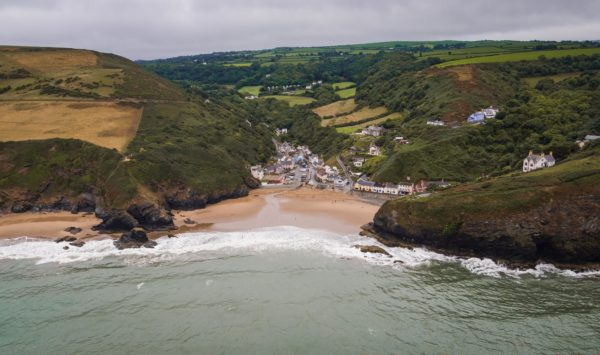 Llangrannog, well worth a visit from Welsh Hideaways