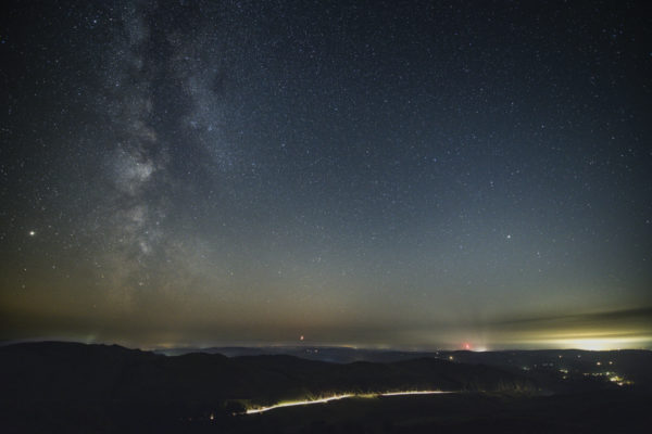 Hafod and Arch nightview 1