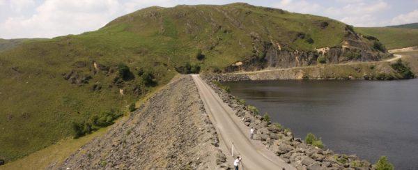 Reservoir in the Elan Valley Wales